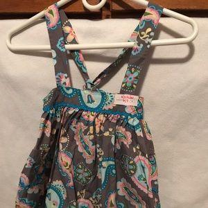 Kelly's Kids Crisscross Shoulder Strap Skirt